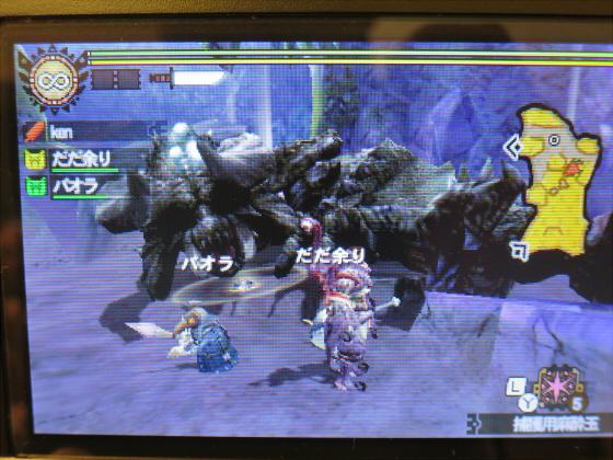 MH4G-頽廃の沼ソロ大剣38