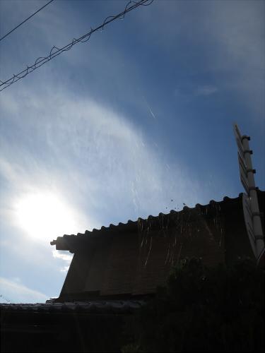 白山神社に初詣2015-12