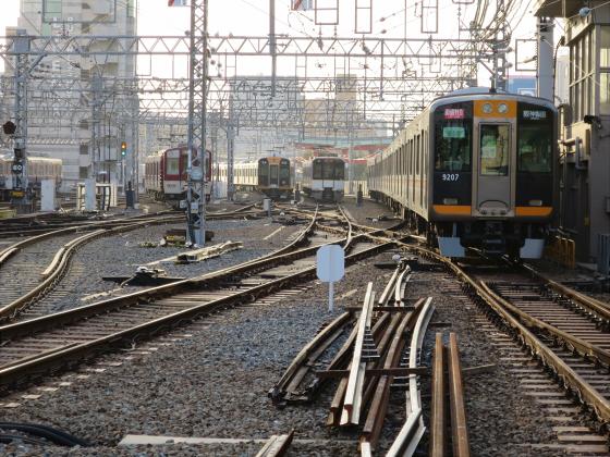 阪神電車-虎ラッピング13
