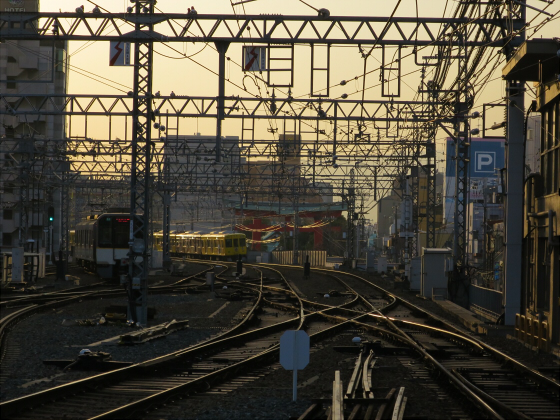 阪神電車-虎ラッピング18