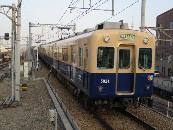 阪神電車-虎ラッピング24