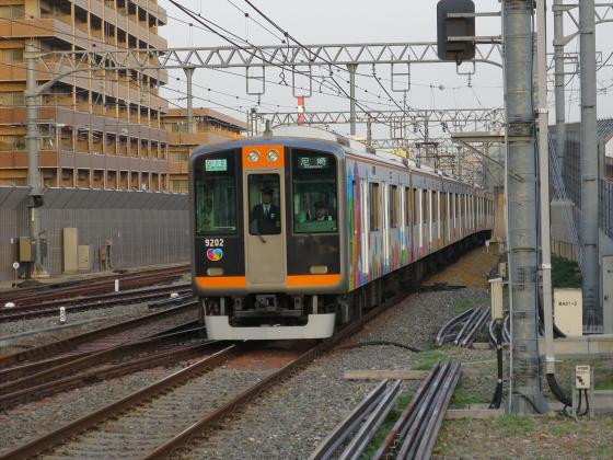 阪神電車-虎ラッピング26