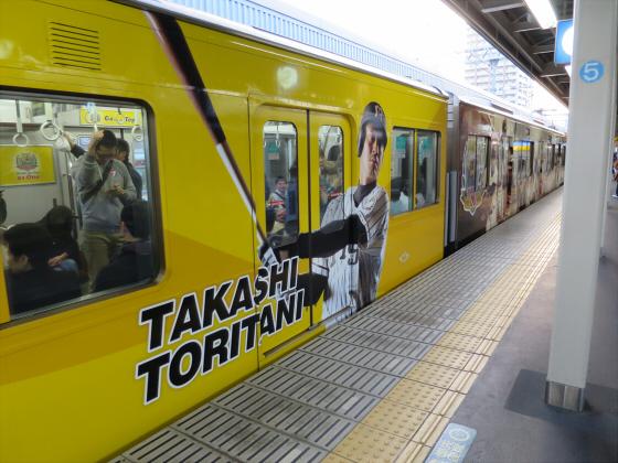 阪神電車-虎ラッピング33