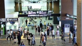 2日目富山(改札)