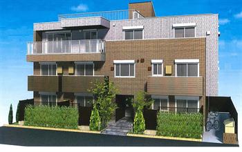 大井5丁目中出邸新築マンション完成予想図2_R