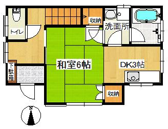 大井5小松邸1F