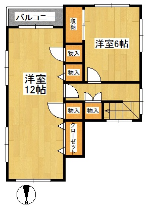 明賀邸2F