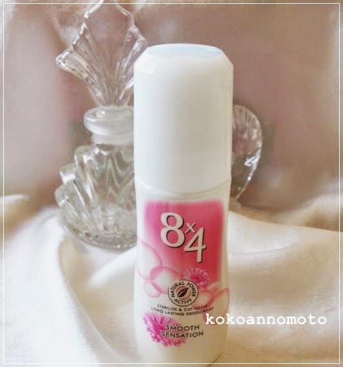 8×4ロールオン スムースセンセーション フレッシュフローラルの香り