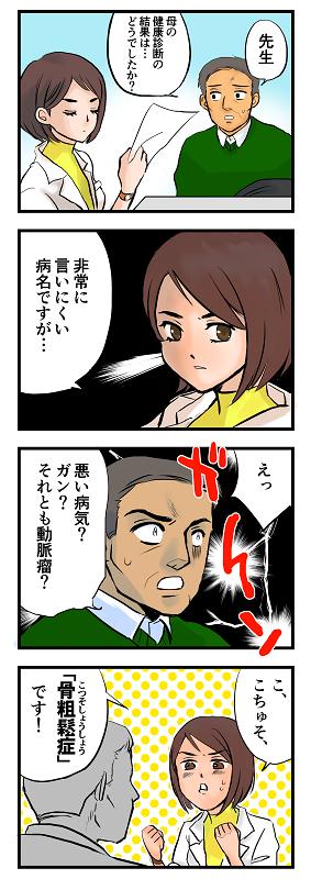 4コマ漫画① こくしちゃんねる