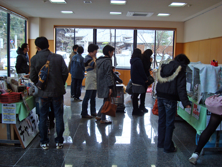 譲渡会場2015.1.24①