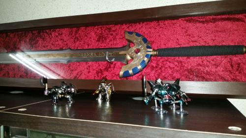 K様 金属製王者の剣 頂いたお写真