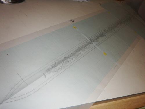 牙狼剣設計図