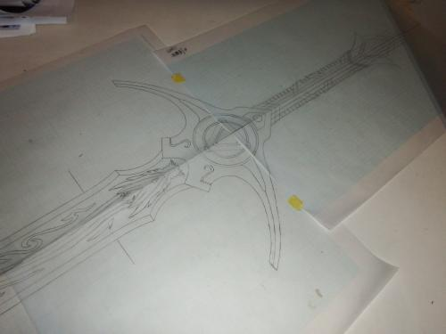 牙狼剣設計図2