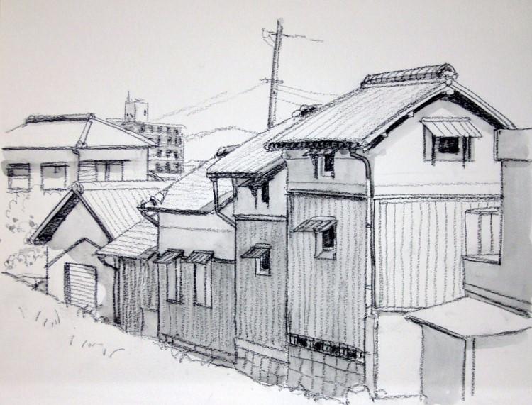 大間の旧家 グリサイユ (750x571)