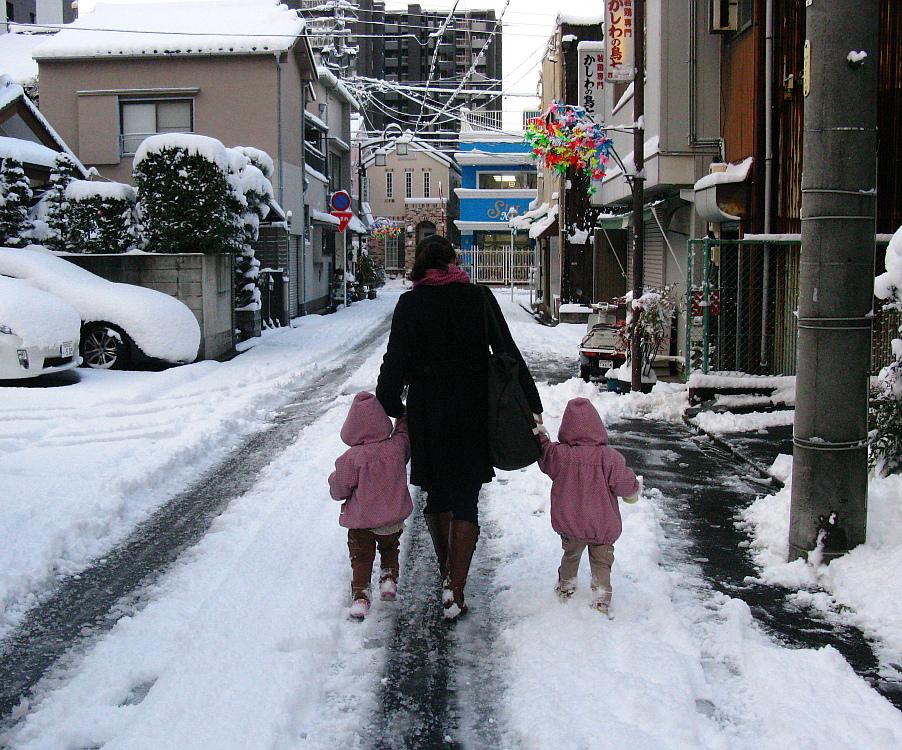2014_12_18名古屋:大雪 (2-)