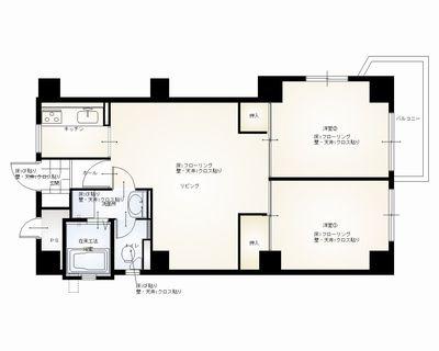 y邸1階 平面図