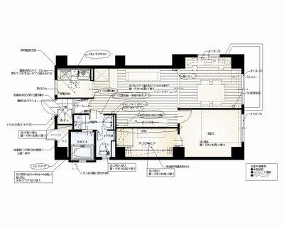 y邸5階 平面図