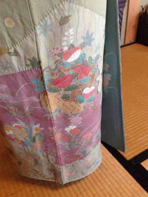 魚津 着付け教室 裾つぼまり