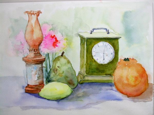 クリエイト 静物時計