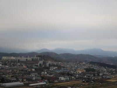 2月8日、朝の大山