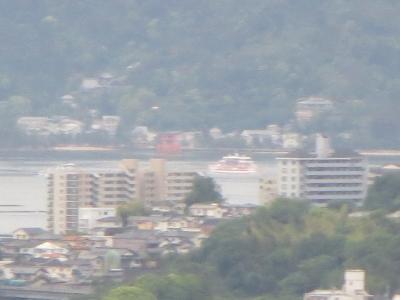 SAから見える宮島