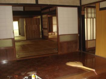 道造の古民家田の字の部屋
