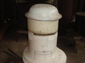 小型石窯の設計モデル