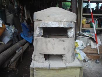 完成小型石窯2段目