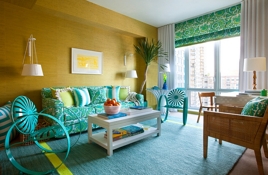 Beautiful-blend-of-yellow-and-turquoise-in-the-living-room.jpg