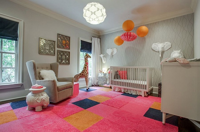 Colorful-and-classy-nursery-in-pink-and-gray.jpg