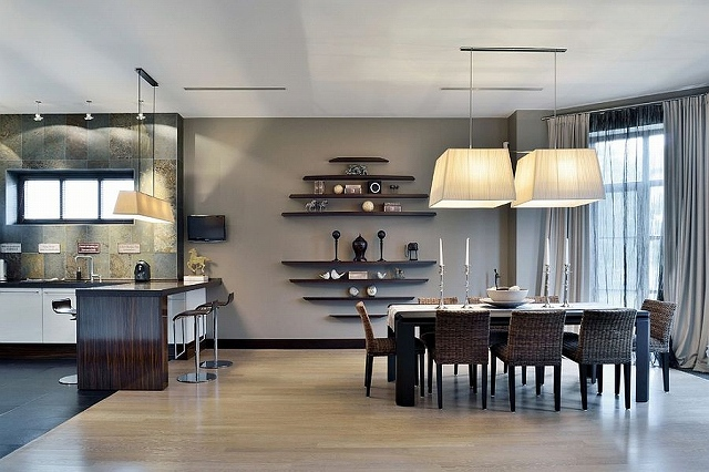 Drapes-add-to-the-gray-aura-of-the-dining-space.jpg