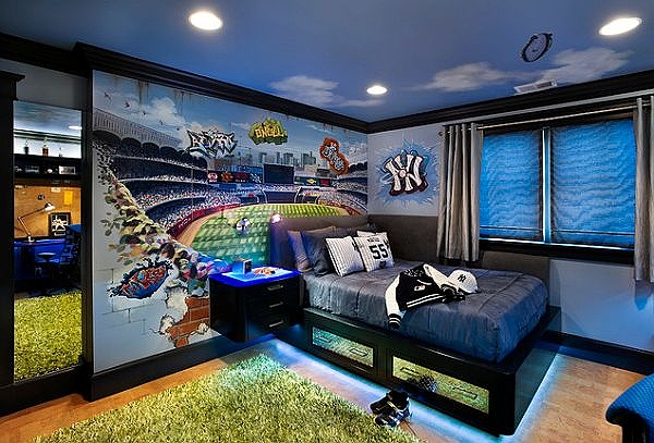 Fabulous-boys-bedroom-is-all-about-the-brilliant-paint-job.jpg