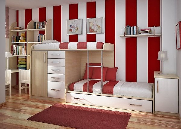 Red-and-white-stripes-on-the-wall-usher-in-a-playful-vibe.jpg