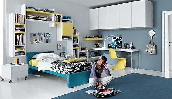 simple-teenagers-room-blue-yellow-and-white-furniture.jpg