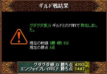 4月6日 エンジョイGv VSグダグダ感_Gさま