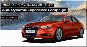 懸賞_Audi Dynamic Experience Campaign_150315締切