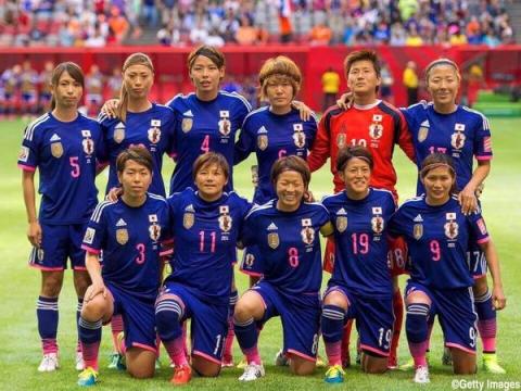 2015女子W杯イングランド戦鮫ちゃん④