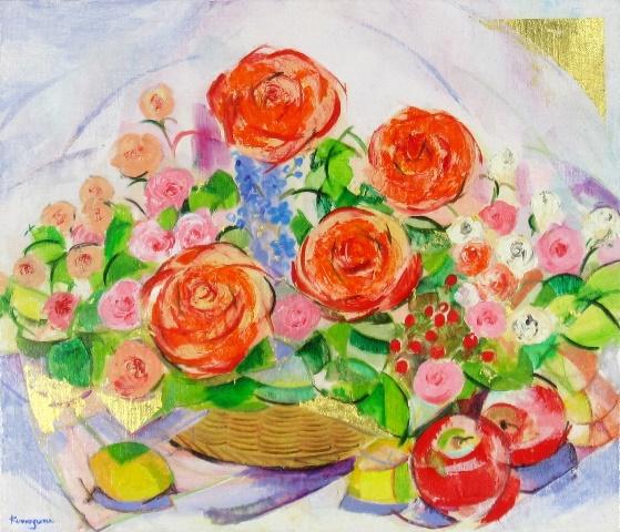 Vitamin color in Rose