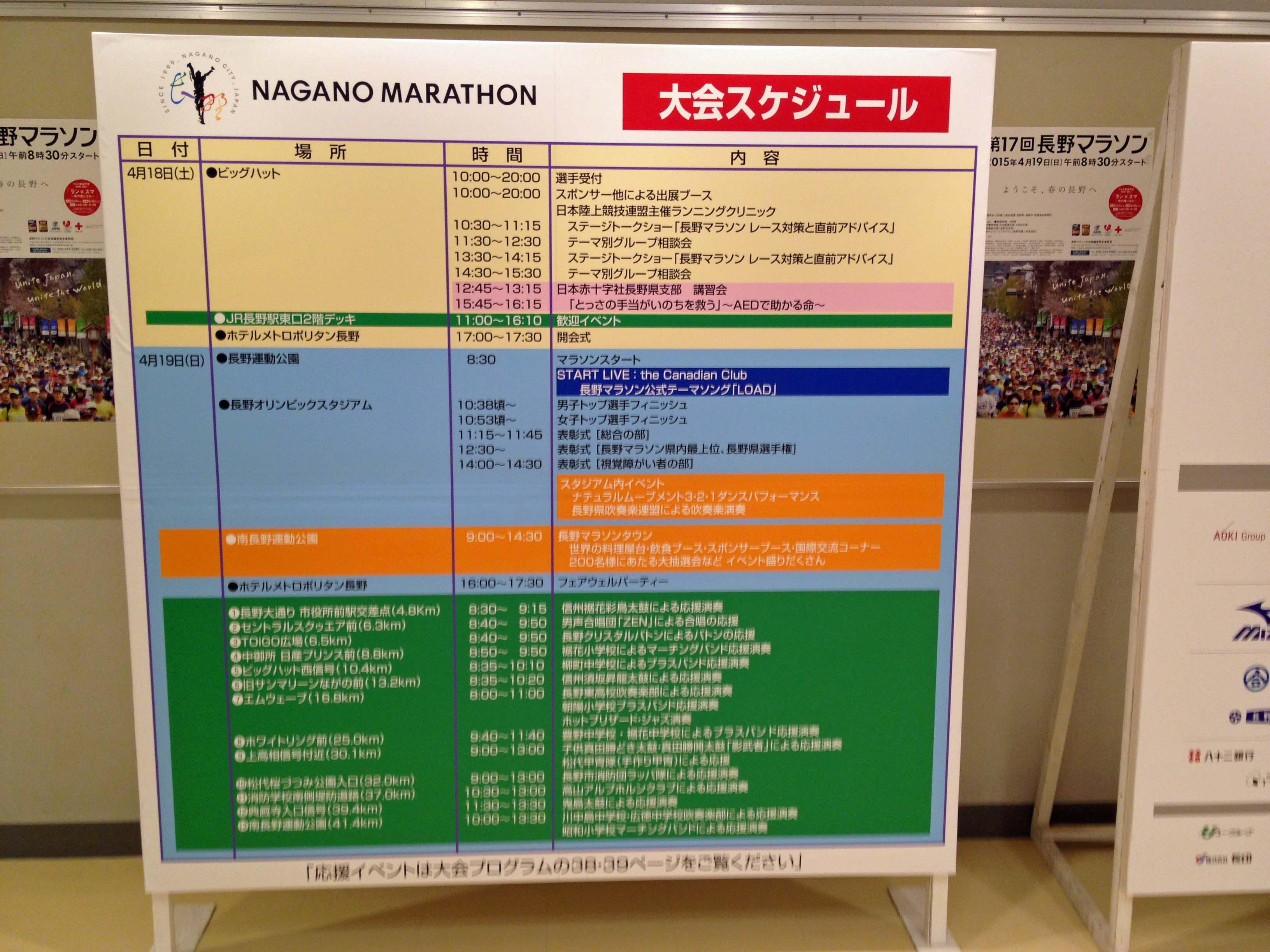 長野マラソン受付会場01