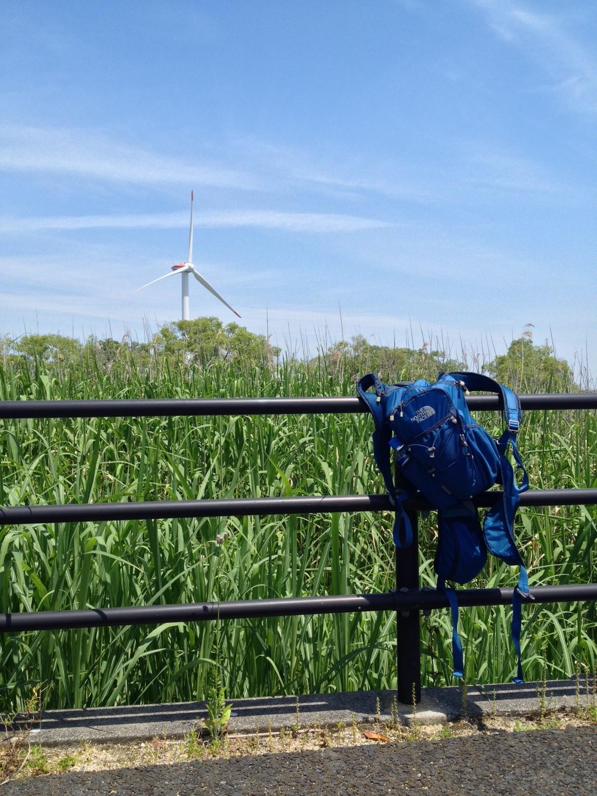 烏丸半島の風車01