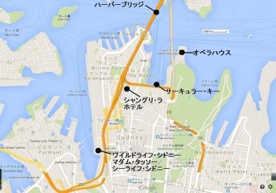 Sydney map - 1
