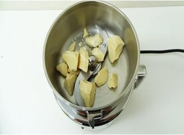 フェノール樹脂を粉砕するミニスピードミル