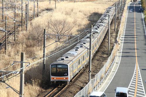 武蔵野線205試運転
