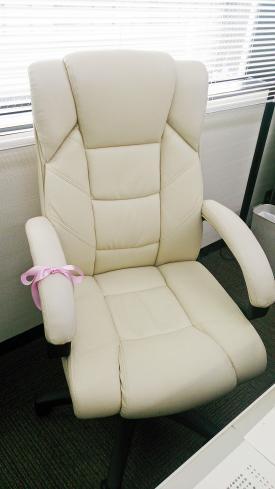 プレゼントの椅子