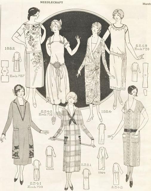 1920s pattern catalog