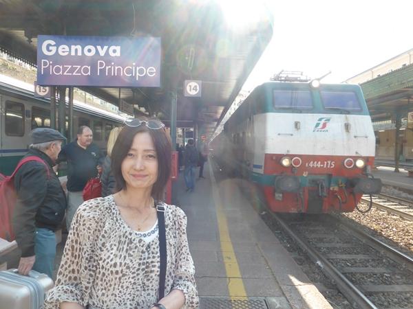 jこの電車でミラノへ