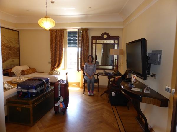 jサヴォイアホテルのお部屋で