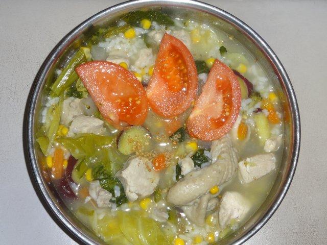 犬の手作りご飯 012