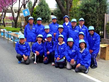 _IGP4315 前橋・渋川マラソン大会第2給水所 集合 0419