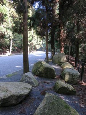 伏見城の石1503